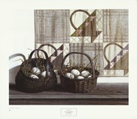 "Don't Put All Your Eggs in One Basket by Pauline Eble Campanelli - 31"" x 27"""