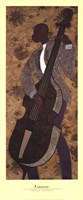 "Jammin' by Phyllis Stephens - 14"" x 34"""
