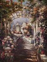 Romantic Pathway I Fine Art Print