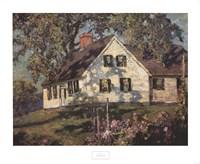 Gardens, Hilltop Cape, 1926 Fine Art Print