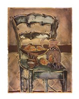 "Contemporary Chair by Joyce Combs - 22"" x 28"""
