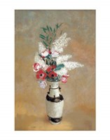 "Vase of Flowers, ca. 1912-14 by Odilon Redon, 1912 - 11"" x 14"" - $10.99"