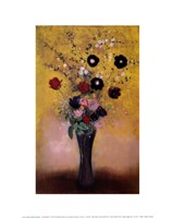 Vase of Flowers, 1916 Fine Art Print