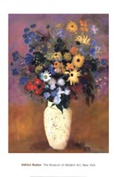 Vase of Flowers, 1914 Fine Art Print
