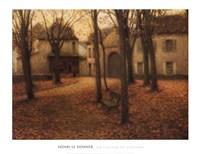 Le Village en Automne Fine Art Print