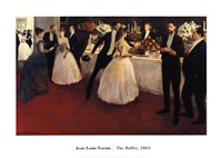 "The Buffet, 1884 by Jean Louis Forain, 1884 - 28"" x 20"""