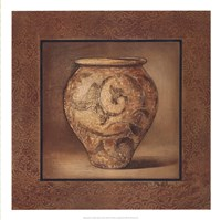 Earthenware Accent I Fine Art Print