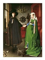 The Portrait of Giovanni Arnolfini and his Wife Giovanna Cenami Fine Art Print
