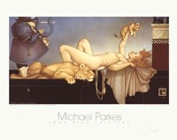 "Dawn by Michael Parkes - 20"" x 16"""