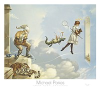 "Desert Dream by Michael Parkes - 32"" x 28"""