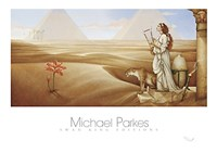 "Desert Lotus by Michael Parkes - 47"" x 33"""