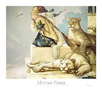 "Deva by Michael Parkes - 32"" x 28"""
