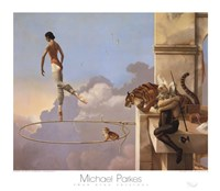 "Dream for Rosa by Michael Parkes - 31"" x 28"""