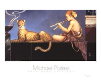 "Dusk by Michael Parkes - 20"" x 16"""