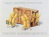 """Banana Samba by Greg Brown - 26"""" x 19"""""""