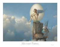 "Magic Spring by Michael Parkes - 20"" x 16"""