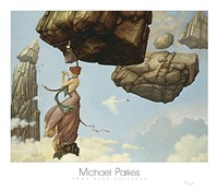 "Maria by Michael Parkes - 32"" x 28"""