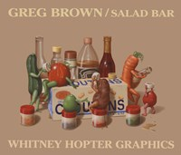 "Salad Bar by Greg Brown - 28"" x 24"", FulcrumGallery.com brand"