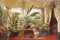 Veranda de la Princesse Mathilde Fine Art Print