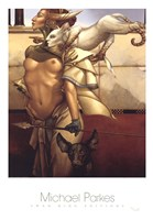 "Stalking by Michael Parkes - 24"" x 34"""