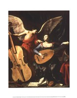 St. Cecilia and the Angel Framed Print