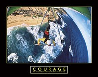Courage - Hang Glider Fine Art Print