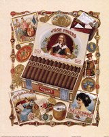 Jose Pinero Cigars Fine Art Print