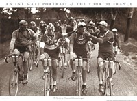 Smokers - An Intimate Portrait of The Tour de France Framed Print