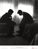 John F. Kennedy and Robert F. Kennedy Fine Art Print