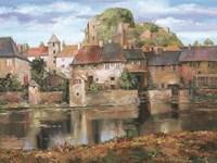 Seyne-Sur-Mer Fine Art Print