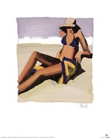 San Tropez II Fine Art Print