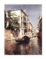 "Venetian Gondola by R. Santoro - 22"" x 28"""