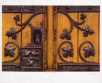 Great Town Hall Door Fine Art Print