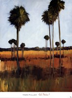 Tall Palms I Fine Art Print