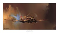 "Spitfire by Barrie Clark - 40"" x 23"""