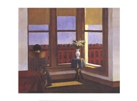 "Room in Brooklyn by Edward Hopper - 32"" x 24"""