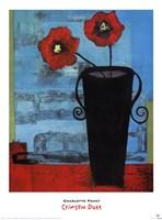 Crimson Duet Fine Art Print