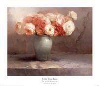 Les Fleurs Romantiques Fine Art Print