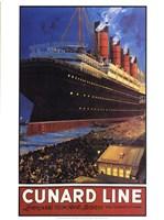 Cunard Line Fine Art Print