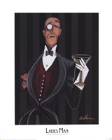 Ladies Man Fine Art Print