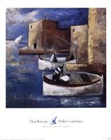 Dos Barcas Fine Art Print