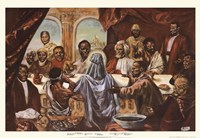 Last Supper Framed Print