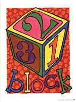Block Fine Art Print