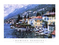 "Lugano Coastline by Howard Behrens - 35"" x 27"""