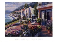 Pacific Patio Fine Art Print
