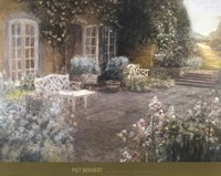 Garden Terrace Fine Art Print