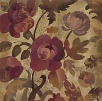 """Shimmering Garden I by Silvia Vassileva - 18"""" x 18"""""""