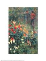 Garden In Rue Cortot Fine Art Print