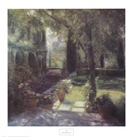 Garden for Marcel Proust Framed Print