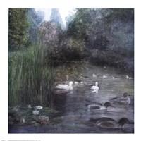"""Walden Pond by Piet Bekaert - 28"""" x 28"""""""